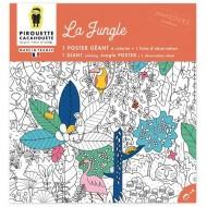Poster à colorier - La Jungle
