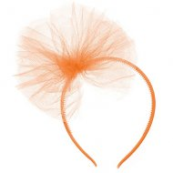 Serre-Tête Tulle Orange