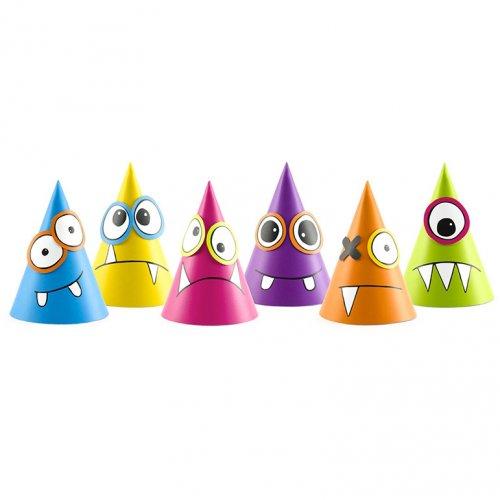 6 Chapeaux Monster Colors à Assembler