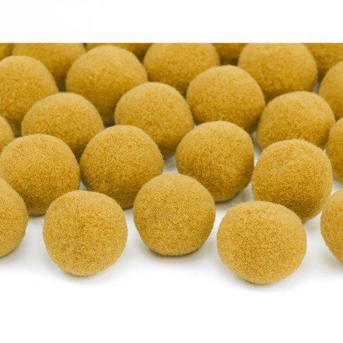 20 Mini Boules Pompons (2 cm) - Orange