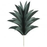 6 Pics Ananas Aloha 3D (15 cm)