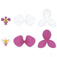 6 Orchidées Aloha (8,5 cm) - Papier
