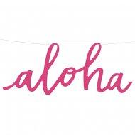 Bannière Aloha (47 cm)