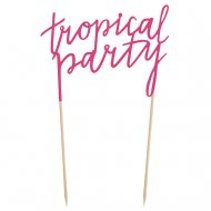 Double Pic Tropical Party
