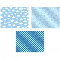 Contient : 1 x 6 Sets de Table Baby Ciel (40 cm)