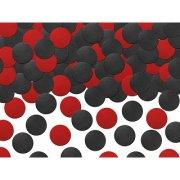 Confettis Coccinelle Noir et Rouge