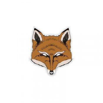 1 Masque Renard - Carton