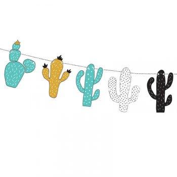 Guirlande Cactus Dino Party (1,30 m)