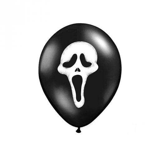 6 Ballons Scream Epouvante
