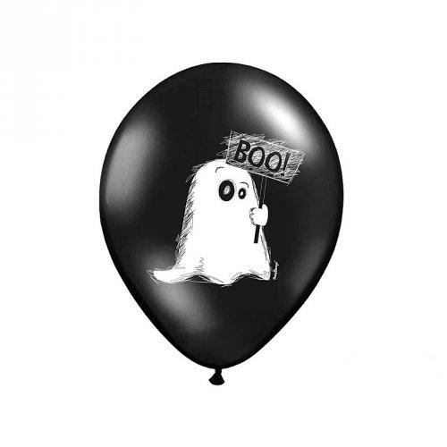 6 Ballons Fantôme et Maison hantée