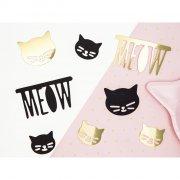 8 Maxi Confettis Mademoiselle Chat