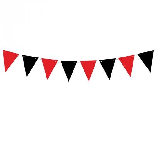 Guirlande à Fanions Pirate Le Rouge (2 m)