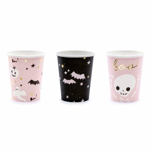 6 Gobelets - Halloween Boo