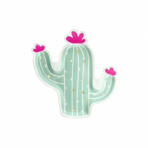 6 Assiettes - Cactus