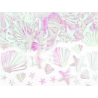 Contient : 1 x Confettis Coquillage - Océan Iridescent