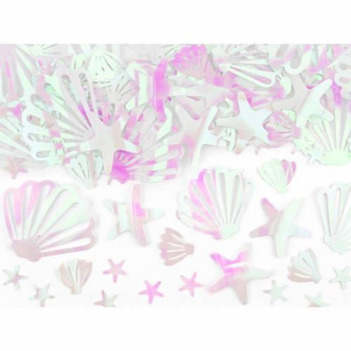 Confettis Coquillage - Océan Iridescent