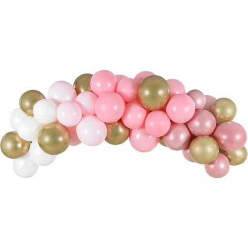 Kit Arche de 60 Ballons - Pink
