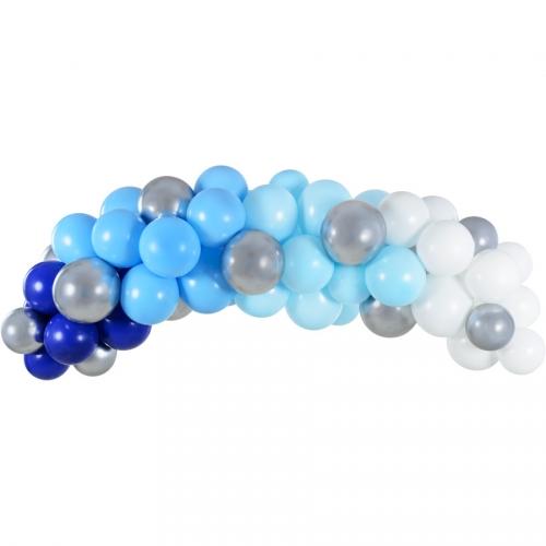 Kit Arche de 60 Ballons - Blue