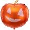 Ballon citrouille rigolote images:#0