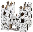 Château du Dragon à colorier