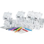 4 Sets Pirates � colorier