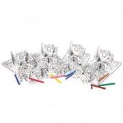 4 Sets Princesses � colorier