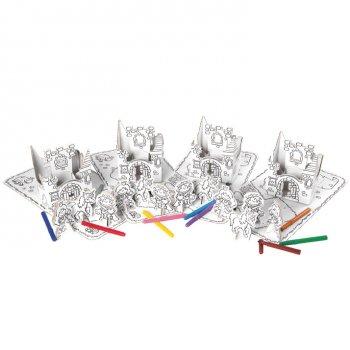 4 Sets Princesses à colorier