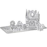 1 Set Princesse à colorier