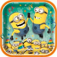 8 Assiettes Minions Party