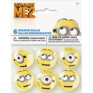 6 Balles Rebondissantes Minions