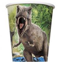 Contient : 1 x 8 Gobelets Jurassic World
