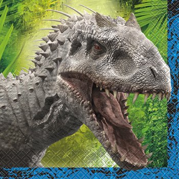 16 Serviettes Jurassic World