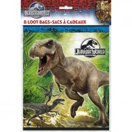 8 Pochettes à Cadeaux Jurassic World