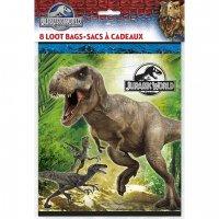 Contient : 1 x 8 Pochettes à Cadeaux Jurassic World