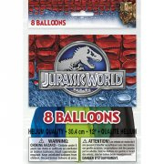 8 Ballons Jurassic World