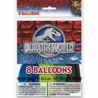 Contient : 1 x 8 Ballons Jurassic World