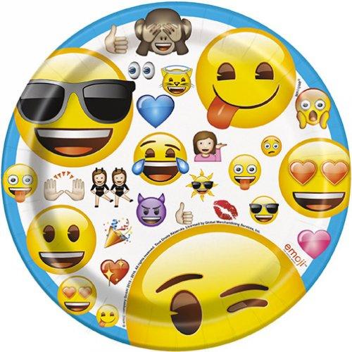 8 Petites Assiettes Emoji Fun