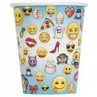 Contient : 1 x 8 Gobelets Emoji Fun