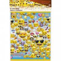 Contient : 1 x 8 Pochettes Cadeaux Emoji Fun