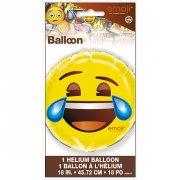 Ballon Gonflé à l'Hélium Emoji Mdr