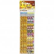 8 Crayons à papier Emoji Fun
