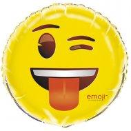 Ballon à Plat Emoji Clin d'oeil
