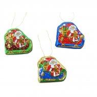 2 Chocolats Père Noël à suspendre (12,5 g)