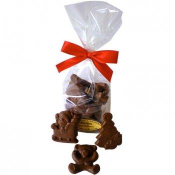 Sachet de 10 sujets de Noël en Chocolat