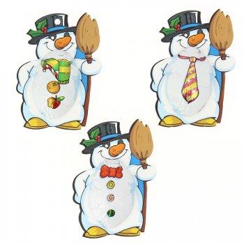 3 Bonhommes de Neige en Chocolat