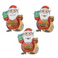 3 Pères Noël en Chocolat