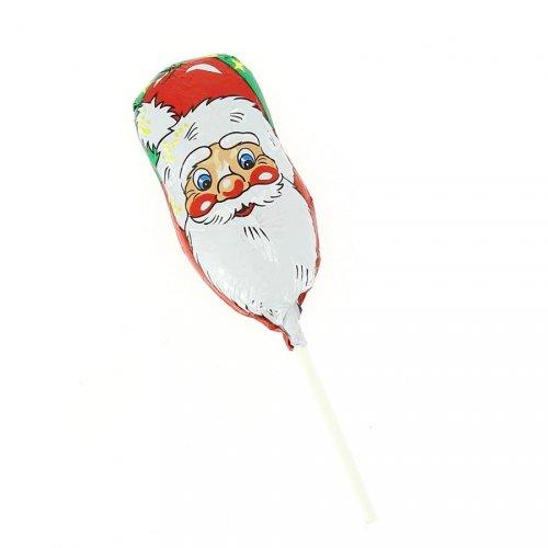 1 Sucette Père Noël en Chocolat