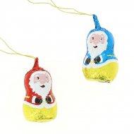 2 Pères Noël en Chocolat Creux