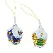 2 Maisonnettes de Noël en Chocolat Creux