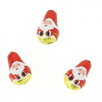 3 Père Noël Chocolat Praliné